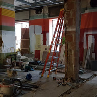 What was once the store behind the main vault on the first floor, with separate entrance off of Smith street.